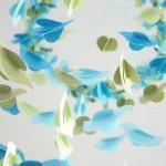 Boy Nursery Mobile- Blue & Green Bi..